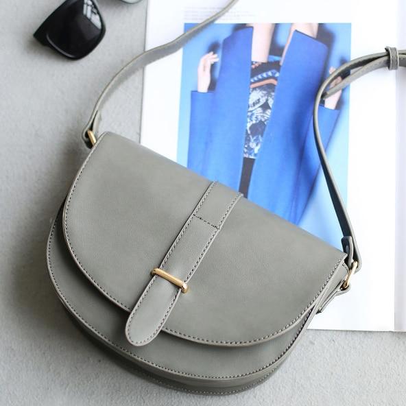 Promotion Half moon Bag 2016 Spring summer Vintage Classic Flap Bag Women  Purse Small Crossbody Bag Messenger Women Handbag B27-in Shoulder Bags from  ... 8bf2a62a713fc
