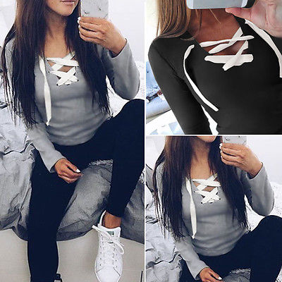 New Women Long Sleeve Blause for femme Shirt Casual Shirts Bandage girl lady clothes Blouse