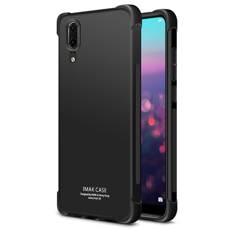 Huawei P20 Case Huawei P20 Pro Case IMAK Shockproof Silicone Soft Transparent TPU Cover Case For Huawei P20Pro / P20Plus