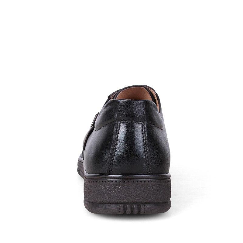 Laisumk Resistente Up Nova Black Homens Tamanho Moda Oxfords Couro Respirável Desgaste Grande brown Lace Sapatos De Casuais Ao Em Flats rrxqYPdw
