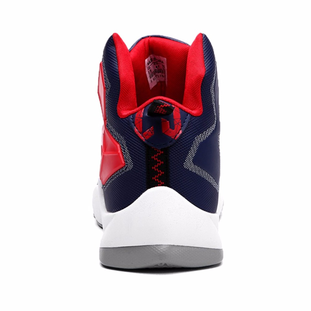 Mens Basketball Shoes Sports Cushion Sneakers Trainers Anti-Skid Boots Breathable High Top Athletic Jordan Outdoor Training