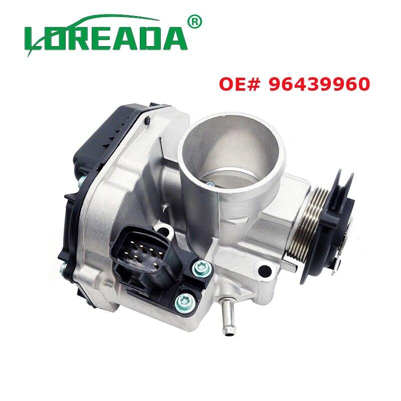 LOREADA 96439960 Throttle Body Assembly Fits For Deawoo For Chevrolet Matiz Spark M200 1.0 96611290 LOREADA 96439960 Throttle Body Assembly Fits For Deawoo For Chevrolet Matiz Spark M200 1.0 96611290
