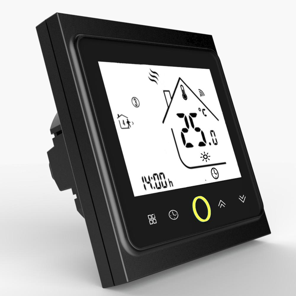 Thermostat Temperature Controller LCD Touch Screen Backlight For Water Floor Heating 3A Weekly Programmable