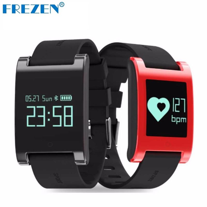 FREZEN Smart Bracelet DM68 Smart Band Fitness Sleep Activity Tracker Blood Pressure Oxygen Heart Rate Tracker