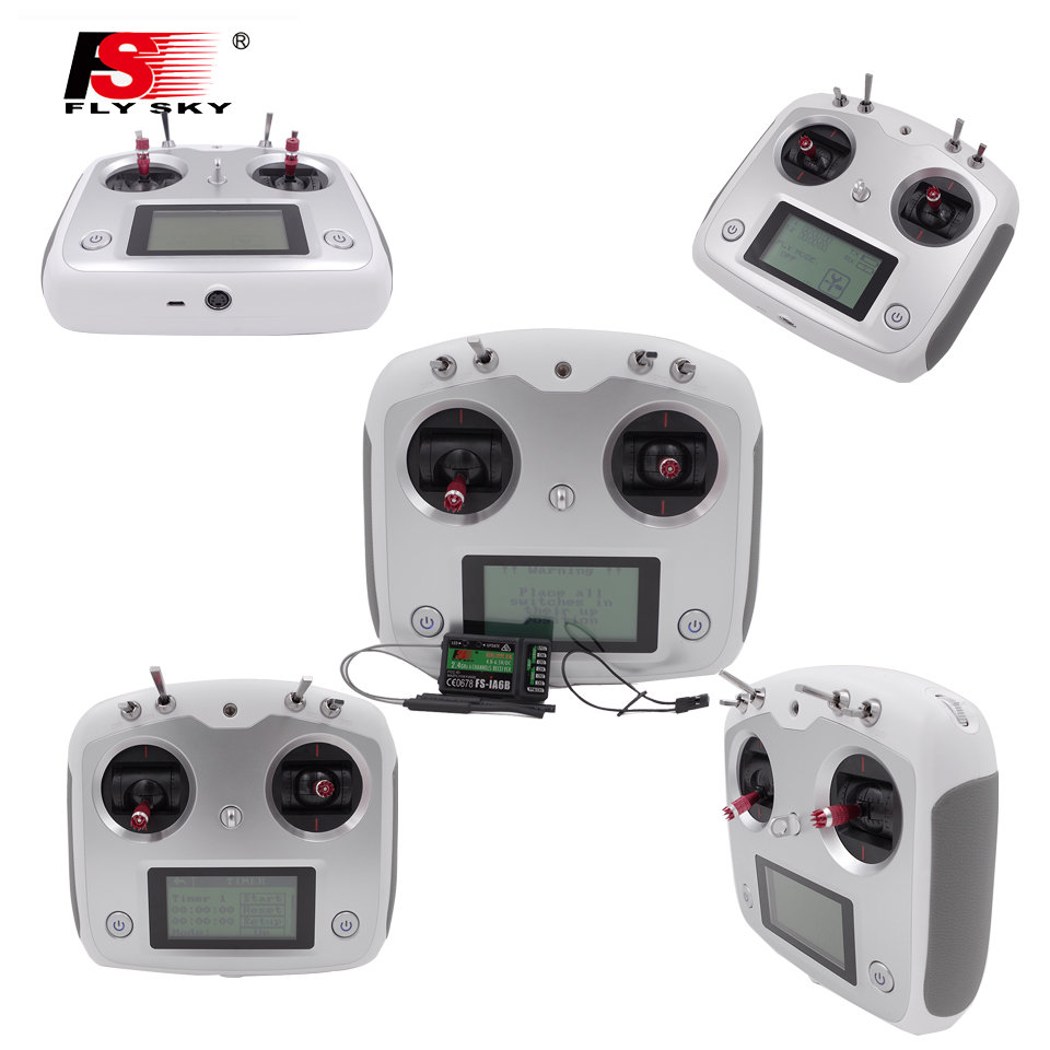 Flysky 2.4G AFHDS FS-i6s 10ch FS-I6 FS I6 Upgraded version 2A RC Transmitter w/ FS-iA6B Receiver For FPV Drone Toy aeromodelling usb analog cable fms simulator for flysky sm100 drone 2 4g rc