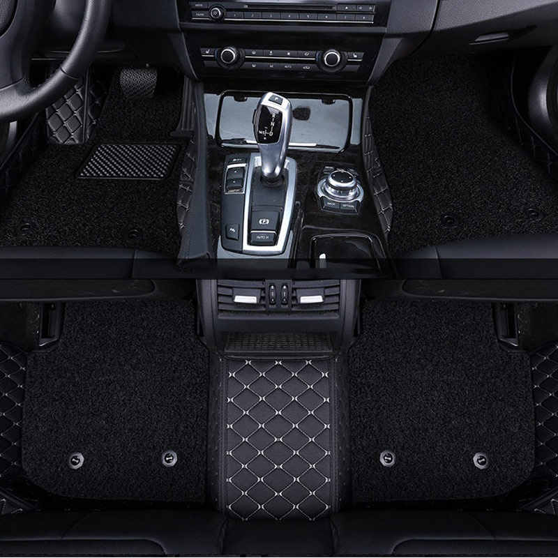 Tapis de sol de voiture tapis tapis tapis de sol pour Mercedes S W221 W222 GLA GLK X204 GLC M ML W164 W166 GLE 2018 2017 2016 2015 2014 2013