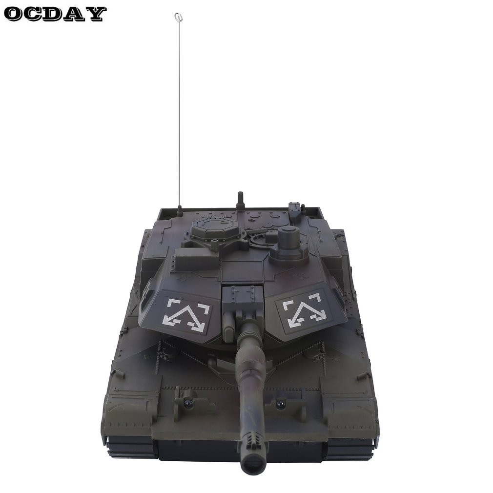 1:14 RC Tank 4CH Remote Control Tiger Tank Turret Rotation Light & Music Remote Control Model Tank Best Christmas Gift for Kids baby toys rc tank boy toys amphibious tank 4ch 1 30 large rc tank toy remote control tank fire bb bullets shooting gift for kids