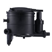 Fuel Filter Housing 191144, Keenso Black Plastic Fuel Filter 19 10.5 15.8cm / 7.5 4.1 6.2in for Xsara Berlingo Peugeot 206 306