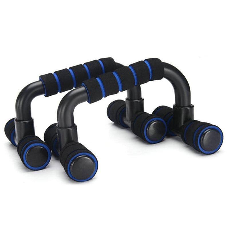 1 Par de Fitness Push Up Apretones de la Mano del Cuerpo de Entrenamiento Pushup Stands Sport Gym Bar Pecho Esponja Empuñadura Entrenador De Culturismo P15