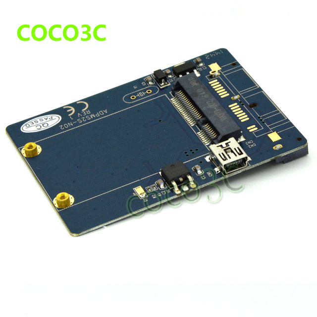 Mini pci express slot guide poke radar platine