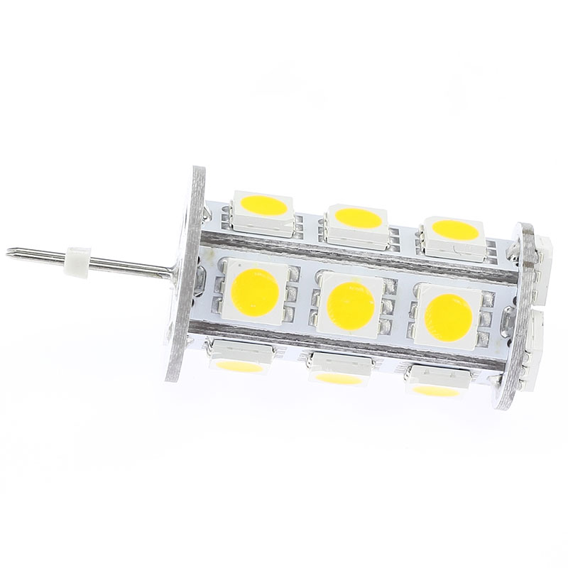 18 SMD5050 G4 Led Bulb Warm White G4 3W Led DC10-30V AC10-18V 12V 24V Crystal G4 Replacment 1pcs/lot image