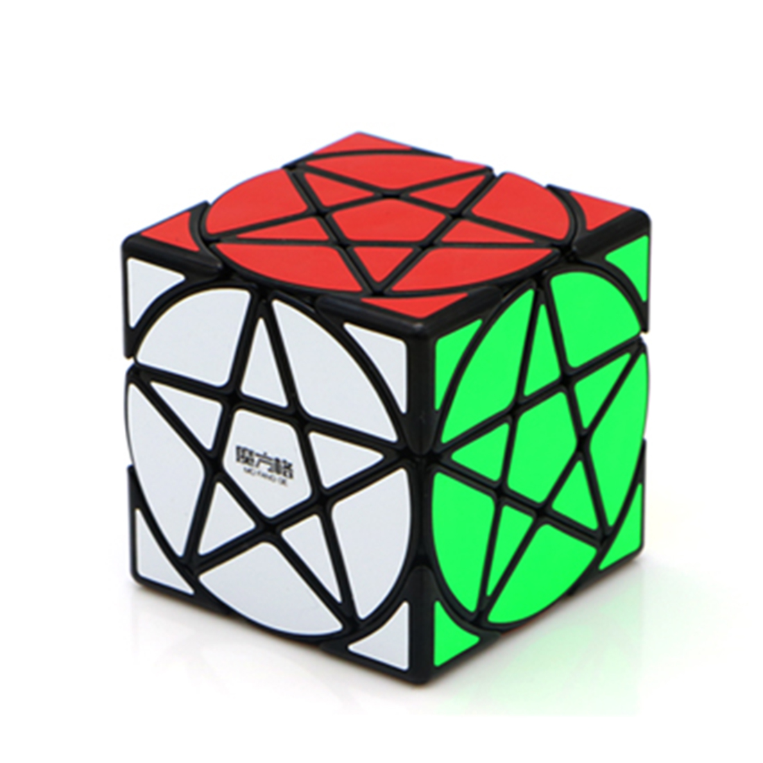 QiYi Mofangge Five-pointed Star Pattern Magic Cube Puzzle Toy for Competition