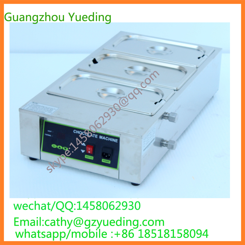 3 tanks commercial chocolate melting machine,chocolate melting machinery,equipment fast shipping food machine digital chocolate melting machine stainless steel chocolate machine household and commercial