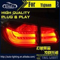 AKD Car Styling Tail Lamp For VW Tiguan Tail Lights Tiguan TSI LED Tail Light LED