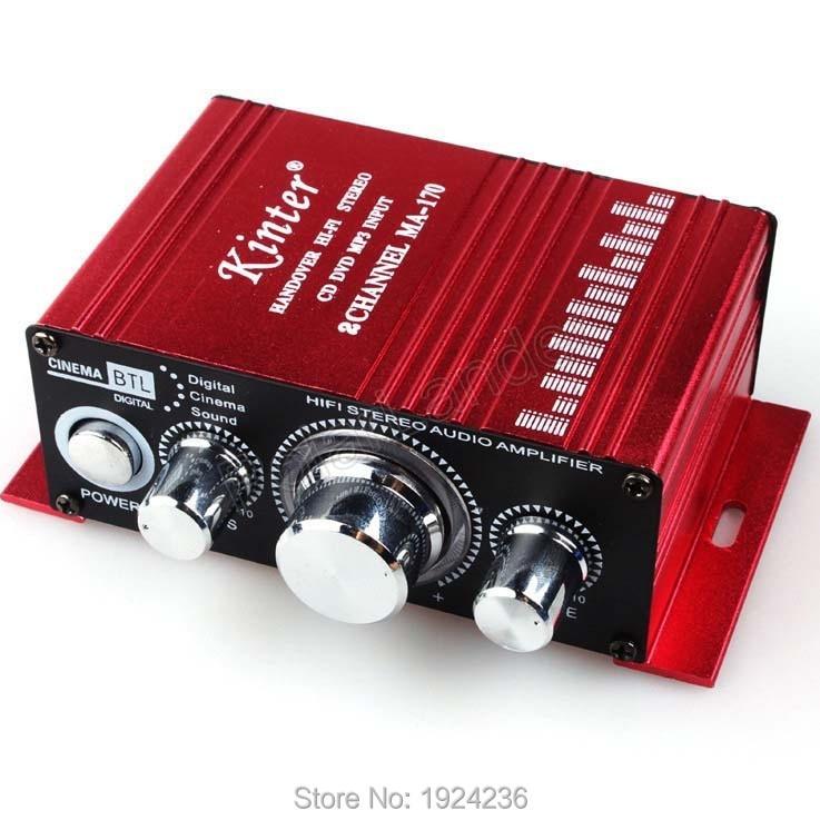 estéreo 12v amplificador de potência para carro