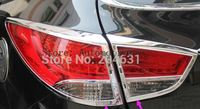Chrome Rear Tail Light Lamp Cover Trim For 2010 2011 2012 2013 2014 for Hyundai ix35