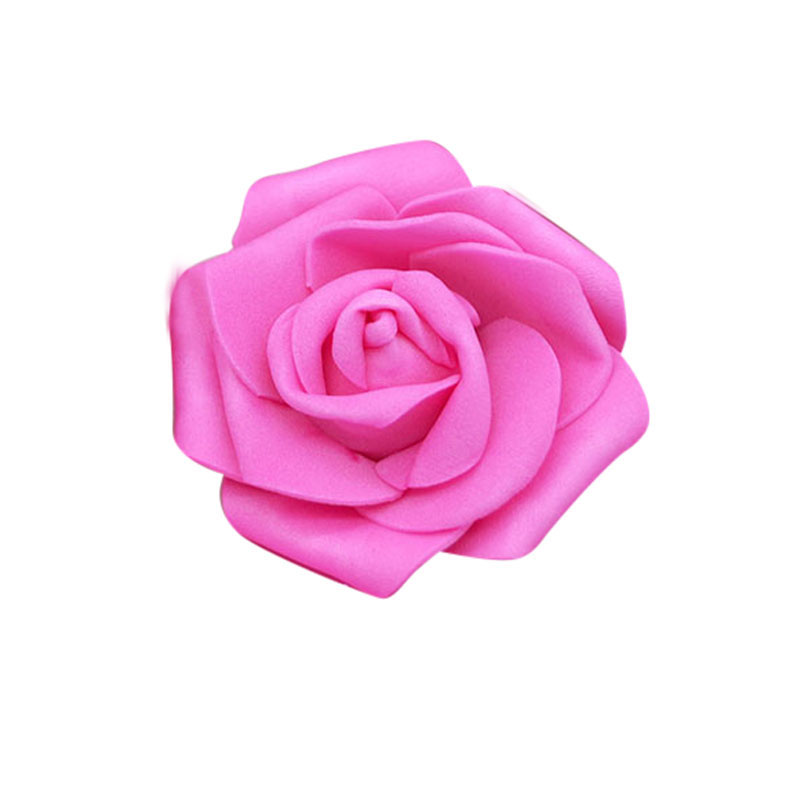 16 Different colors available -- 2.5 inch 20pcs PE Foam Rose for DIY project