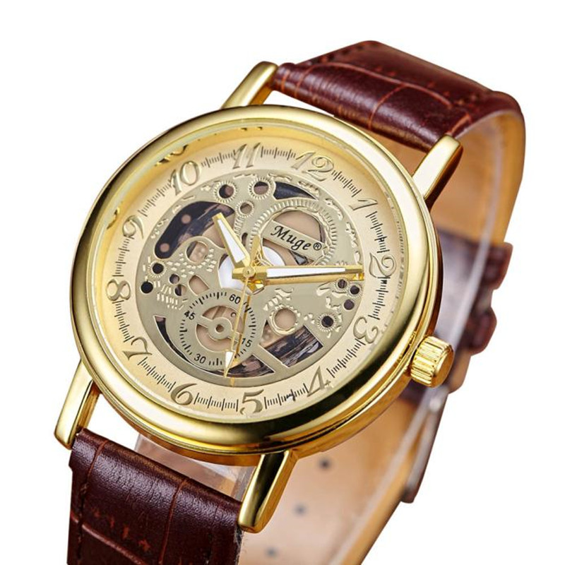 Business Fashion double-sided hollow Brand Luxury Mens Analog Quartz Clock military Wrist Watches Sports Watch Men Gift relogio