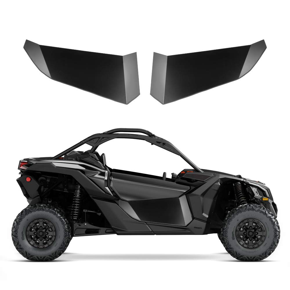 KEMiMOTO UTV Lower Door Inserts Panels UTV Doors For Can am maverick X3 XDS Turbo XRS