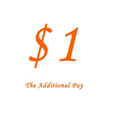$1 Bổ Sung Trả Tiền Của Bạn Để Cho Giá Khác Biệt