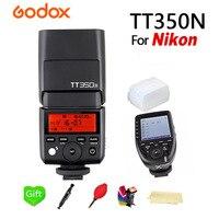 Godox Вспышка вспышки TT350N флэш ttl HSS + Xpro N для Nikon D7200 D7100 D7000 D5500 D5300 D5200 D5100 D5000 и Другое цифровых зеркальных фотокамер Nikon