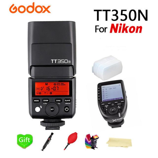 Godox Speedlite Flash TT350N Flash TTL HSS+Xpro-N for Nikon D7200 D7100 D7000 D5500 D5300 D5200 D5100 D5000 and Other Nikon DSLRGodox Speedlite Flash TT350N Flash TTL HSS+Xpro-N for Nikon D7200 D7100 D7000 D5500 D5300 D5200 D5100 D5000 and Other Nikon DSLR