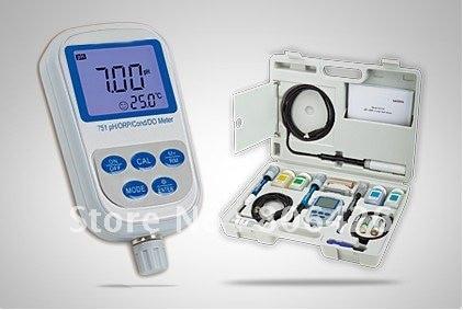 Многофункциональный высокоточный портативный pH/ORP/Проводимость/растворенный кислородный тестер
