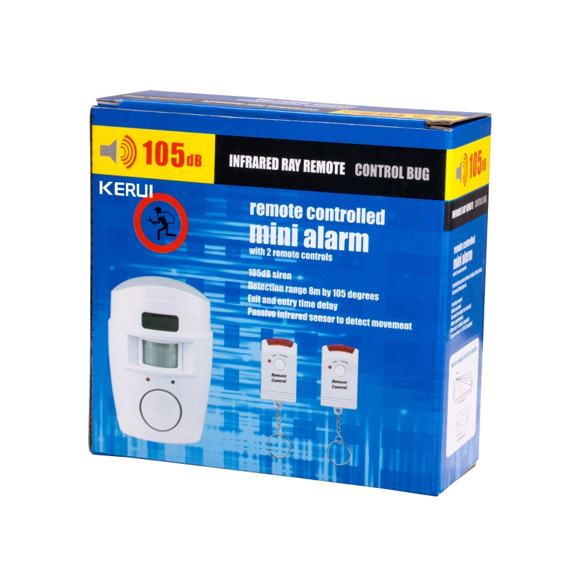 Home Security PIR MP Alert Infrared Sensor Anti-theft Motion Detector Alarm Monitor Wireless Alarm system+2 remote controller 22