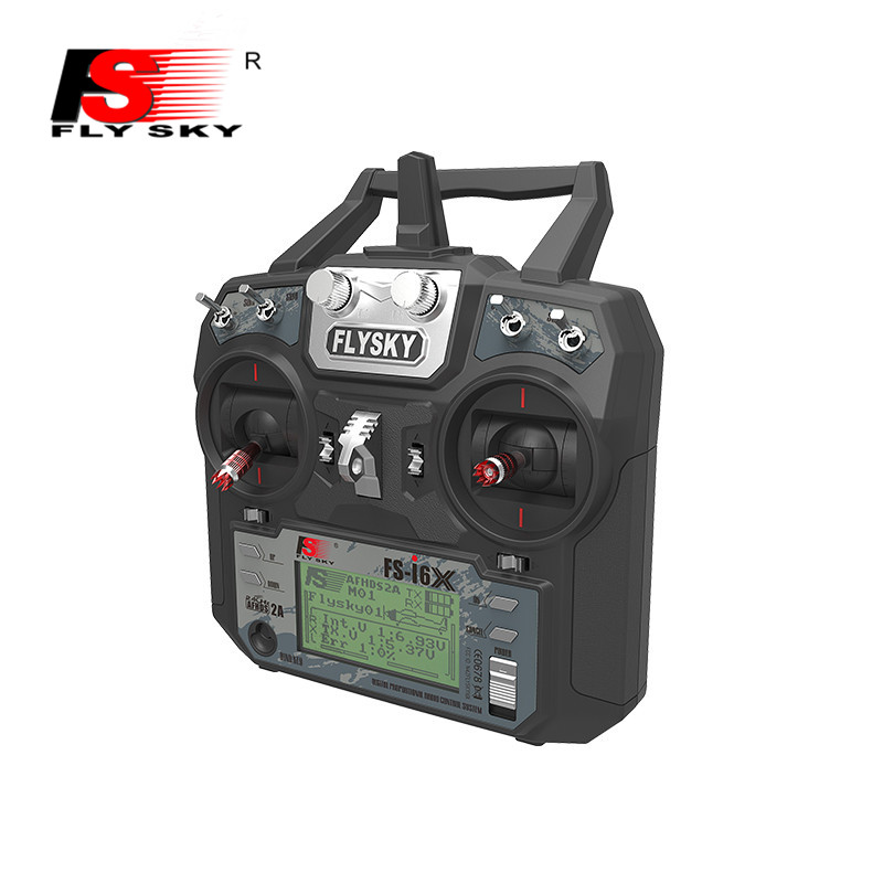 Flysky FS-i6X 2.4G 10CH AFHDS 2A Transmitter&Receiver Remote Control for RC Helicopter Airplane монитор 25 dell up2516d черный ah ips 2560x1440 300 cd m^2 6 ms hdmi displayport mini displayport аудио usb