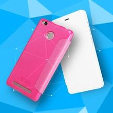 case for xiaomi redmi3s cover NILLKIN Sparkle PU leather case flip cover for xiaomi redmi 3s pro case (5.0 inch) redmi 3s case