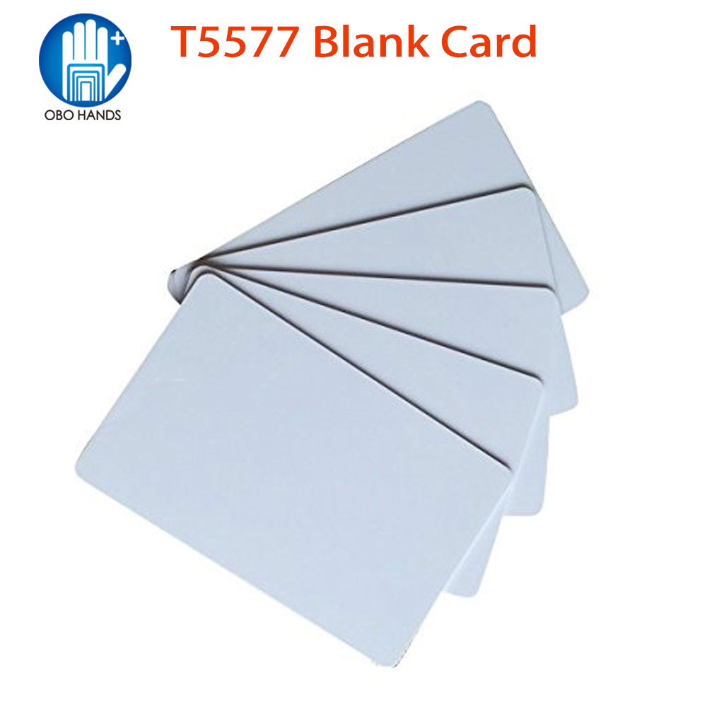 (pack Of 10/20/50/100) 125KHz RFID T5577 Smart Card Proximity EM Key Tags For Door Access Control System Writable And Rewrite