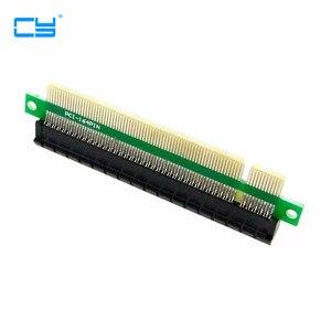 Image 1 - 100 個/ライザー PCI E x16 pcie pci express 16x オス女性ライザー延長カードアダプターのコンバーター 1U 2U 3U Ipc シャーシ