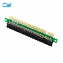 100 stücke/Riser PCI E x16 pcie pci express 16x Männlich zu Weiblich Riser Erweiterung Karte Adapter konverter für 1U 2U 3U IPC Chassis