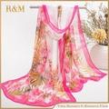 autumn thin silk 2016 New foulard Spring carves chiffon georgette women scarf summer sun hijab headscarf Headband