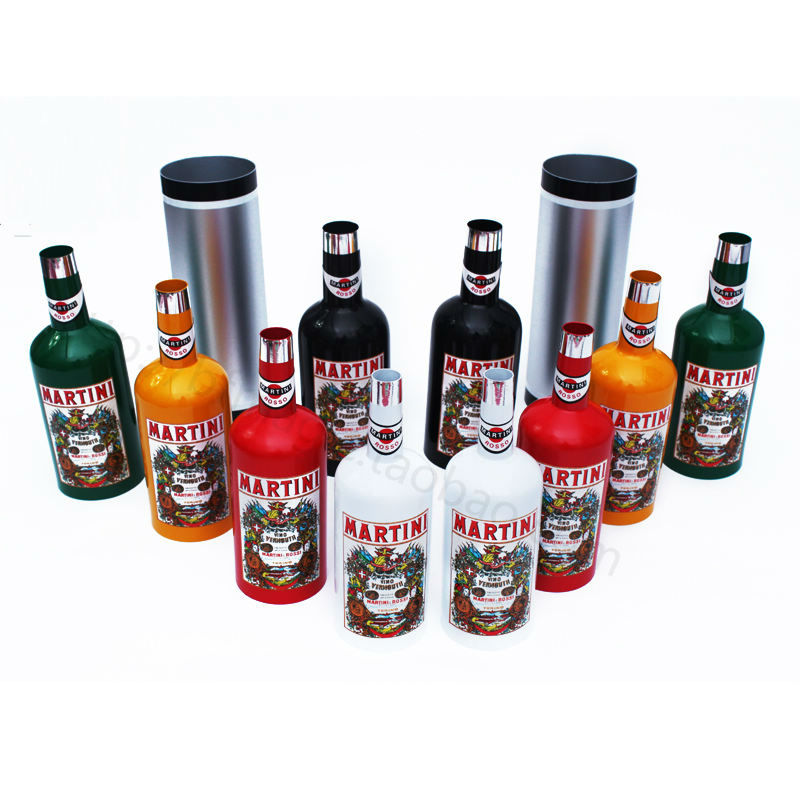 Multiplying Passe Passe Bottles (10 Set) Made Famous by the Great Tommy Cooper!multicolour stage magic