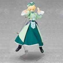 Anime Shamal Knight Magical Girl Lyrical Nanoha figma 043 Xia Maer Knight ver PVC Action Figure figma 043 Model Toys Gifts 0029