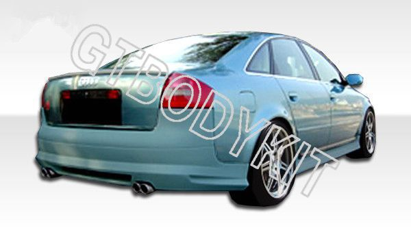 ФОТО FOR  98-04 A6 RS6 C5 SEDAN AB STYLE REAR WING TRUNK SPOILER
