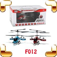 Livraison gratuite F012 Avatar série 4.5 CH alliage hélicoptère RC à distance jouets de contrôle IR Radio de contrôle Mini métal hélicoptère Vs F103