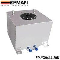 Universal 20 Litre Fuel Surge Tank Swirl Pot System Alloy Aluminum EP YX9414 20N