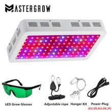 Luz LED de doble Chip para cultivo de plantas de interior, diamante, 300W, 600W, 800W, 1000W, 1200W, 1500W, espectro completo, rojo/azul/UV/IR