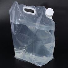 10L Large Capacity Water Bag Collapsible Water Storage Bag Carrier Ourdoor Camping Hiking Picnic Water Carrier Container