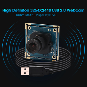 HD Mjpeg YuY2 8mp 3264X2448 цифровой Sony (1/3.2 '') IMX179 датчик мини usb веб-камера Модуль камеры для Windows/Android/Linux/Mac OS