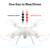LiDi RC L15 L15C 2.4G 6 Ejes Modo Barómetro Set Altura GYRO RC Quadcopter RTF RC Helicóptero con Cabeza y 2.0MP HD cámara