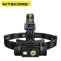 Nitecore HC65 LED Flashlight Cree XM L2 U2 CRI RED LED 1000lm USB Rechargeable Headlight