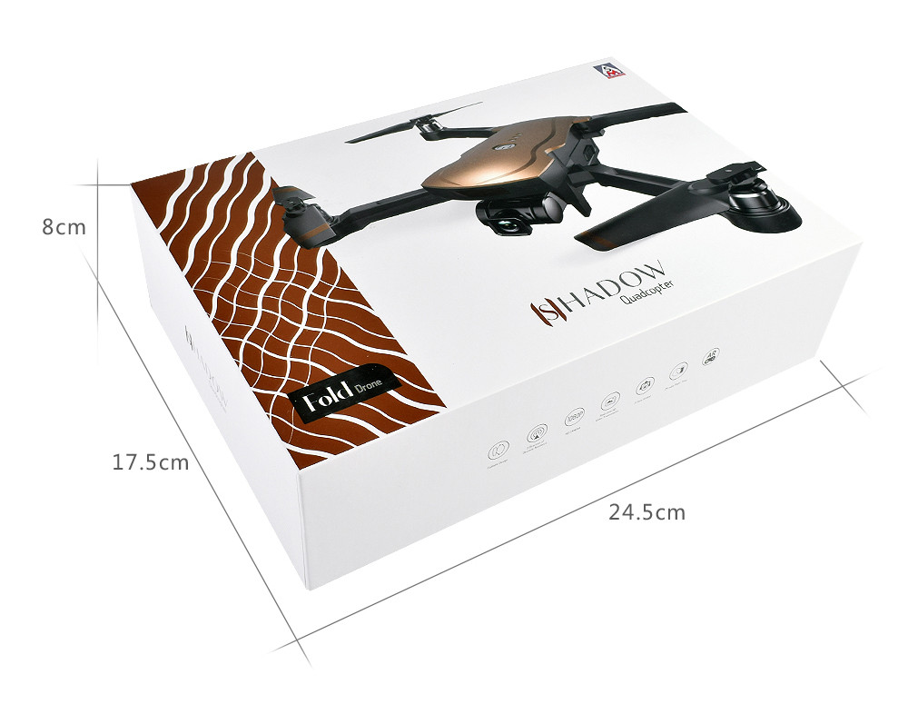 18 GPS tracking surround folding Drone 1000M Mins Brushless gesture aerial shot 1080P HD Camera WiFi FPV RC Quadcopter 30