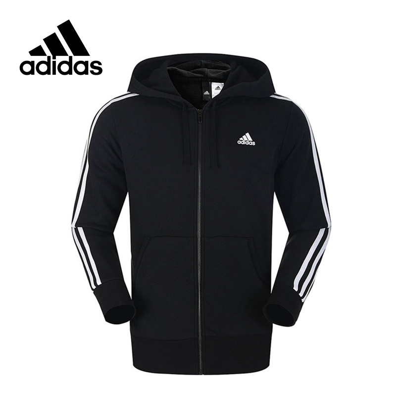 Adidas New Arrival Authentic ESS 3S FZ FT Men's Breathable Jacket Hooded Sportswear S98786 140mm rubber rc 1 8 monster truck tires sponge insert hex hexagon adapter 17mm for rc off road model