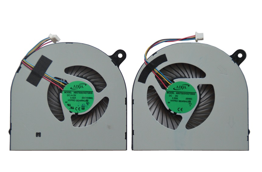 SSEA nuevo ordenador portátil CPU GPU ventilador de refrigeración para Acer Aspire Nitro VN7-591 VN7-591G portátil ventilador AB07505HX070B00 envío gratis