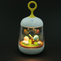 ECO Friendly LED Birdcage Lamp Touch Sensor Bird Cage Music Night Light With USB Rechargeable Battery