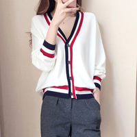 High Quality summer style Cardigan Women casual Sweet Crochet Knitted Blouse Long sleeve Tops Women long Sweaters Cardigans