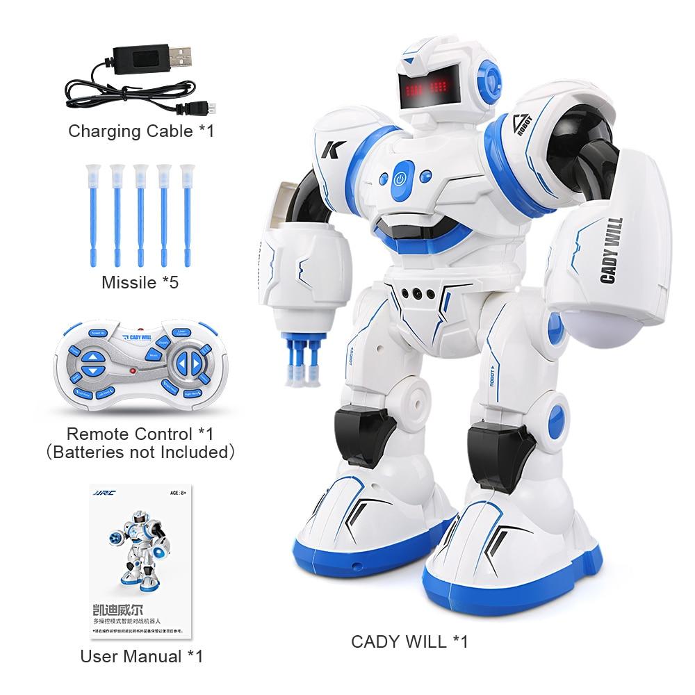 JJRC R3 RC Robot Toys Intelligent Programming Dancing Gesture Sensor Control for Children Kids  F22483-F22483 intelligent wireless remote control robot dog kids dancing walking dog